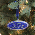 Ford Silver Plated Ornament (3920)