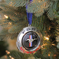 Ford Mustang GT Silver Plated Ornament (3921)