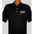 Roush Aviation Mens Black Polo (1437)