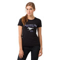 Ford Black Always Wanted A Pony Ladies Tee (3870)