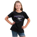 Ford Black Always Wanted A Pony Youth Tee (3933)