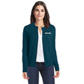 Roush Ladies Teal Cardigan Sweater (3937)
