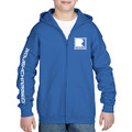 Roush Charged Royal Youth Full Zip Hoodie (3896)