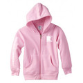 Roush Charged Light Pink Toddler Full Zip Hoodie (3900)