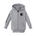 Roush Charged Light Heather Gray Infant Full Zip Hoodie (3905)