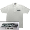 Roush Fenway White Polo (1441)