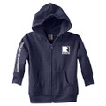 Roush Charged Navy Toddler Full Zip Hoodie (3898)