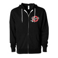 Roush Speed Shop Unisex Black Full Zip Hoodie (3948)