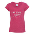 Roush Racing Youth Pink Glitter Tee (3960)