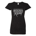 Roush Racing Ladies Black Glitter Tee (3953)