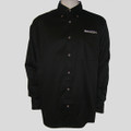 Roush Mens Black Long Sleeve Dress Shirt (1443)