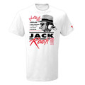 Jack Roush 2019 Hall of Fame White T-Shirt (3988)