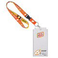 Ryan Newman #6 Oscar Mayer Credential Holder w/ Lanyard (4004)