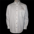 Roush Mens White Long Sleeve Dress Shirt (1449)