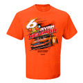 Ryan Newman Oscar Mayer Orange Tee (4031)