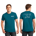 Roush Mens Teal Curious Mind Tee (4025)