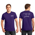Roush Mens Purple Curious Mind Tee (4027)