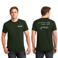 Roush Mens Green Curious Mind Tee (4028)