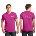Roush Mens Pink Curious Mind Tee (4029)