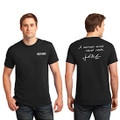 Roush Mens Black Curious Mind Tee (4030)