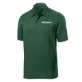 Roush Mens Heather Green Breathable Polo (4072)