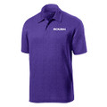 Roush Mens Heather Purple Breathable Polo (4073)