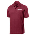 Roush Mens Heather Cardinal Breathable Polo (4074)