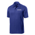 Roush Mens Heather Cobalt Breathable Polo (4076)