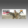 Roush Aviation Old Crow 2' x 5' Banner (4096)