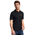 Roush Performance Black Solid Mesh Tech Polo (4106)