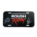 Roush Racing 2019 Driver Signed License Plate (4112)