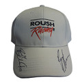 Roush Racing 2019 Driver Signed Tan Hat (4115)