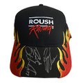 Roush Racing Flame 2019 Drivers Signed Hat (4116)
