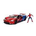 Ford Spiderman GT 2017 1:24 Scale Die-cast w/ Figure (4129)