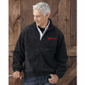 ROUSH Mens Charcoal Full Zip Poly Fleece (4169)