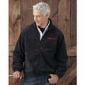 ROUSH Mens Charcoal Full Zip Poly Fleece (4169)