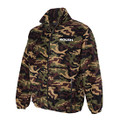 ROUSH Mens Green Camo Full Zip Poly Fleece (4171)