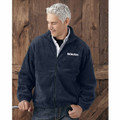 ROUSH Mens Navy Full Zip Poly Fleece (4172)