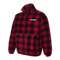 ROUSH Mens Buffalo Plaid Full Zip Poly Fleece (4173)