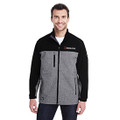 Roush Square R Black/Heather Gray Dri Duck Jacket (4144)