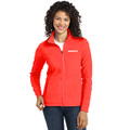 Roush Ladies Neon Coral Full Zip Microfleece (4176)