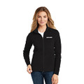 Roush Ladies Black Full Zip Microfleece (4177)