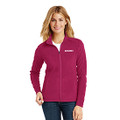 Roush Ladies Pink Full Zip Microfleece (4178)
