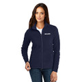 Roush Ladies Navy Full Zip Microfleece (4179)