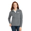 Roush Ladies Gray Full Zip Microfleece (4180)