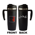 Only 1 mug included. Picture shows front and back of travel mug.