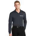 Roush Charcoal Snag Resistant & Moisture Wicking Long Sleeve Polo (4200)