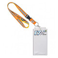 Chris Buescher Sunny D Credential Holder & Lanyard (4236)