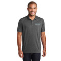 Roush Fenway Mens Heather Gray Polo (4244)