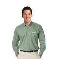Roush Mens Sage Long Sleeve Dress Shirt (4249)